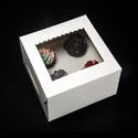 3Sp 4 Cupcake Box with Window & Insert