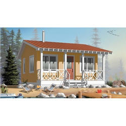 Farm Cottages 400 Sqft Area 1bhk