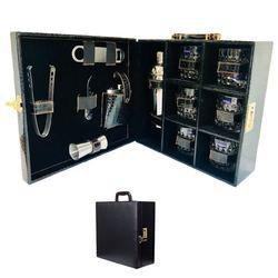 Black Croco.Travel Bar Set (00CBB)