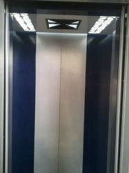 Mild Steel Powder Coated Elevator Lift Cabin