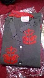 Cotton Work Embroidered Kurti
