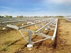solar modules mounting structure