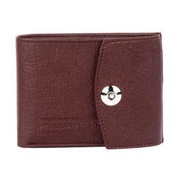 Magneto Card Brown Wallet