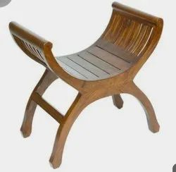 Brown Solid Wood Chair For Home