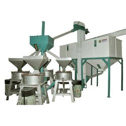 Wheat Flour Mill Automatic Plant