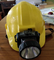 Maxx Hdpe Safety Helmet With Torch, Application:construction