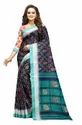 Sagun Pure Linen Printed Saree