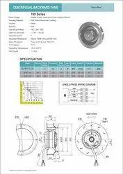 Centrifugal Backward Fan 180, For Commercial