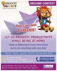 2D Newsletter Design, in Pan India