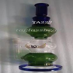 Smoking Water Glass  Beaker Bong