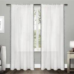 Plain Cotton Curtains