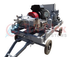 Triplex Plunger High Pressure Pumps Industrial Cleaning