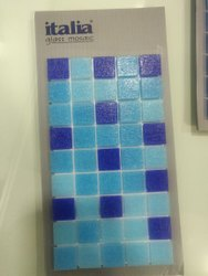 Glass Mosaic Tiles for Swimming Pool and Other Application