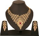 Gold Plated Jewellery Pendant Necklace with Chain