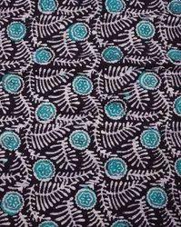 Batik Printed Multicolor Linen Fabric, For Dress, GSM: 100-150