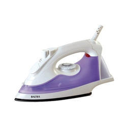 White, Purple 1200w Baltra Steam Iron, Bti-125