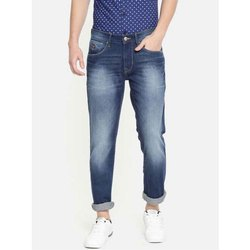 Casual Wear Button,Zipper Mens Denim Jeans