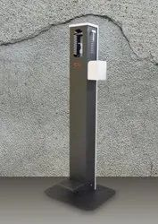 Foot Pedal Sanitizer Stand
