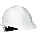 White Abs Construction Safety Helmet