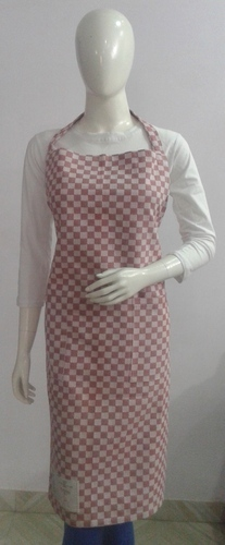 Checks Cotton Yarn Dyed Apron