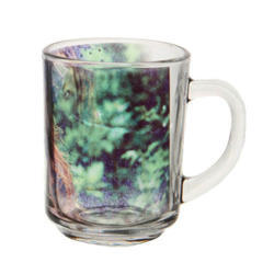 Printed Sublimation Glass Mug