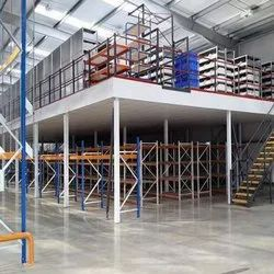 Double Decker Mezzanine Floor Storage Rack