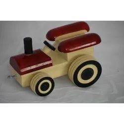 Wooden Jeep Toy, Packaging Type: Packet