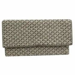 Ladies Embroidered Clutch Bag