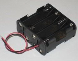 9.6V AA Battery Holder