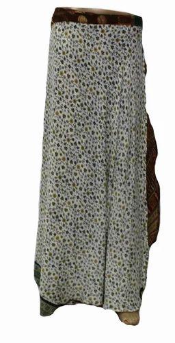 c3fb0895edcd Beach Wear Vintage Silk Long Wrap Skirt, Rs 250 /piece, Nivisaa ...