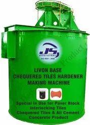 Livon Base Chequered Tile Hardener Making Machine