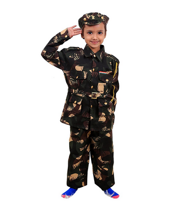 Fancy Steps Indian Army Fancy Dress Costume for Kids  sc 1 st  IndiaMART : army costume for boy  - Germanpascual.Com