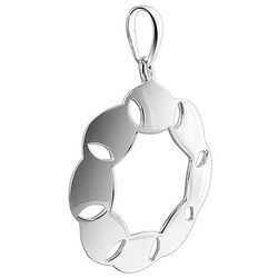 Plain Silver Pendant Design