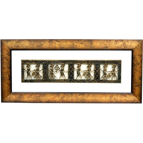 Dokra Painting Frame at Rs 2200 /piece   Fort   Mumbai   ID: 4079704662