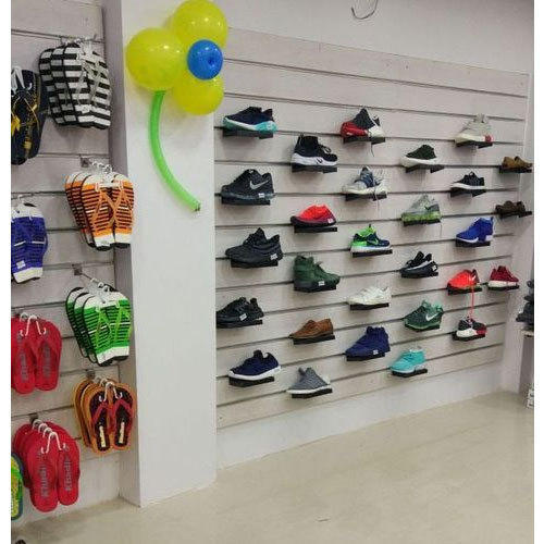 Stainless Steel Wall Mounted Shoes Display Rack Rs 8500 Piece Id