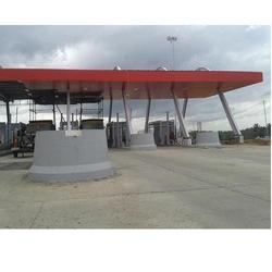 Toll Plaza Roof