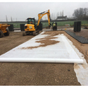 Geotextile For Roadway Separation