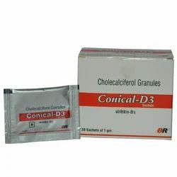 Conical D3 Sachet