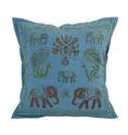 Hand Ari Work Rectangular Cushion Cover