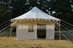 Multiple Color Unique Resort Tent, Size: 13ft X 26ft And 14ft X 28ft