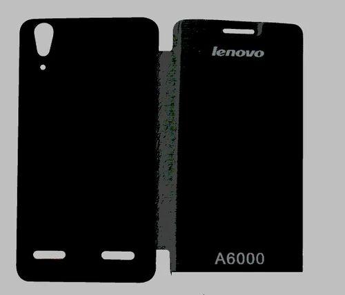 timeless design 70aa5 30c11 Flip Cover For Lenovo A6000 Plus (black)