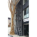Aluminium Double Width Scaffold Ladder
