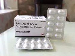 Pantoprazole 40 mg  Domperidone 10 mg SR Capsules