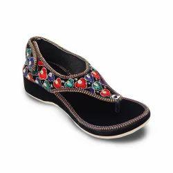 Women Velvet Flat Ballerina Sandals 354