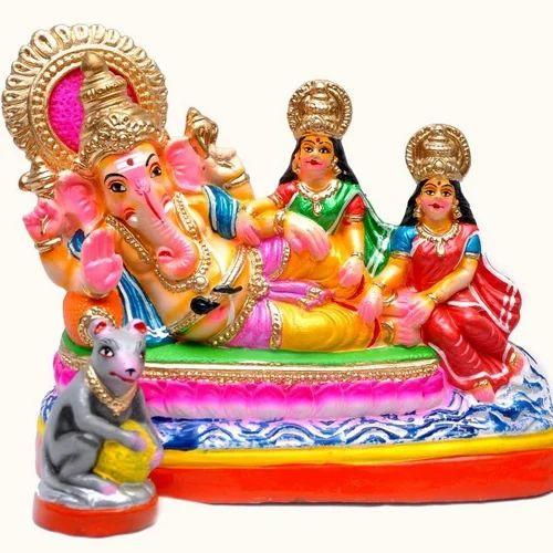 Sidhi Bhuthi Ganapathi God Statue At Rs 950 Piece Bhagvan Ki
