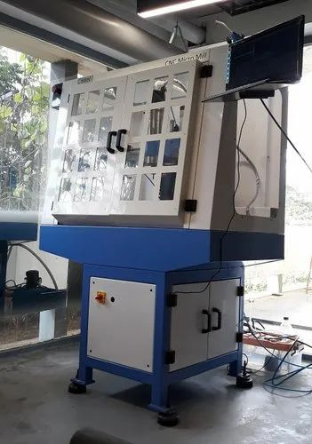 Control Technics Mild Steel Education CNC Milling Machine, Vertical, 350kg
