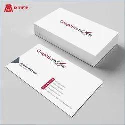 Digital Kraft Paper Visiting Cards