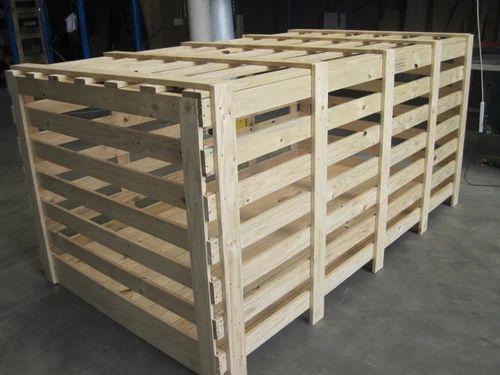 Pine Wood Packing Crate At Rs 550 Square Feet प इन व ड क र ट च ड क लकड क क र ट Shree Jyotirling Wooden Industry Dombivli Id 16077517491