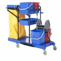 Aayka Multi Function Janitor Cart