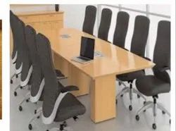 Wooden Conference Table, Seating Capacity: 8-10